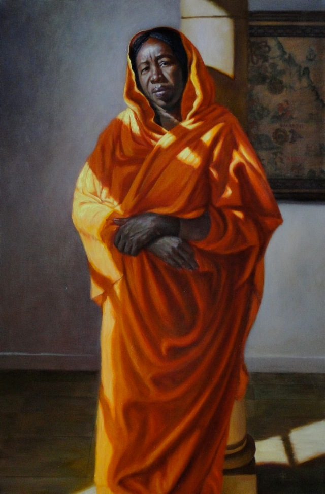 The Sudanese Peacemaker Oil On Canvas  36x24-